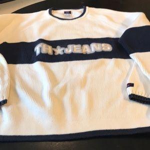 Men's XL Tommy Hilfiger 100 Cotton Sweater 👍